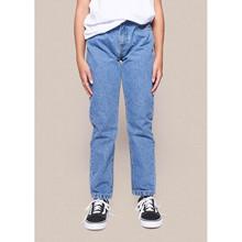 2134-101 Grunt Stone Blue Jeans  BLÅ