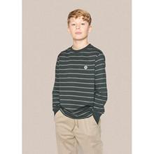2134-404 Grunt Bos Stripe T-shirt ARMY