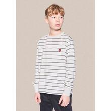 2134-404 Grunt Bos Stripe T-shirt SAND