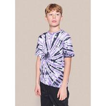 2134-407 Grunt Leg Dye T-shirt LILLA
