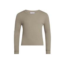2143-406 Grunt Tio LS T-shirt BRUN