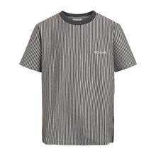 2144-402 Grunt Hokon Stripe T-shirt GRÅ