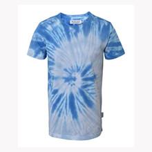 2201020 Hound Tie Dye T-shirt LYS BLÅ