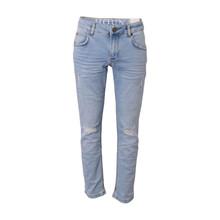 2210217 Hound Straight Jeans 7/8  LYS BLÅ