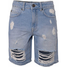 2210417 Hound Ribbed Shorts LYS BLÅ