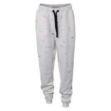 2210811 Hound Sweat Pants Paint Off white