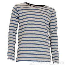 101386 Mads Nørgaard T-shirt L/Æ GRÅ