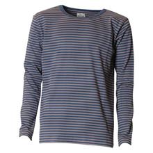 101385 Mads Nørgaard T-shirt L/Æ GRÅ