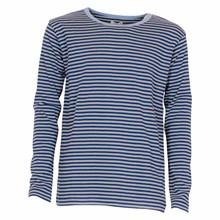 101385 Mads Nørgaard T-shirt L/Æ MARINE