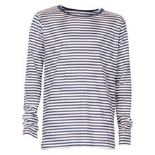 101524 Mads Nørgaard T-shirt L/Æ HVID