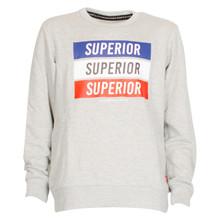 Superior Stardustb Sweatshirt GRÅ