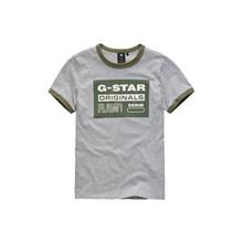 SQ10266 G-Star Ringer T-shirt  GRÅ