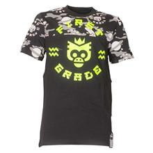 FirstGrade Neon Camo T-shirt SORT