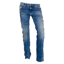 Seaham Boys Petrol Jeans Stretch BLÅ