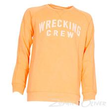 B-SS18-SWR335 Petrol Sweatshirt ORANGE
