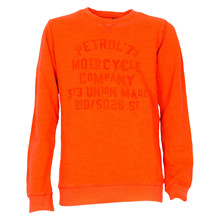 B-FW18-SWR352 Petrol Sweatshirt  ORANGE