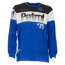 B-FW18-SWR365 Petrol Sweatshirt BLÅ