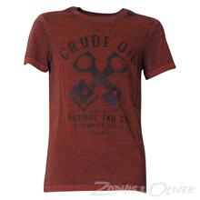 B-FW17-TSR Petrol T-shirt BORDEAUX