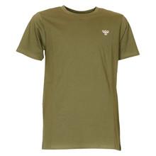 204832 Hummel Logo T-shirt GRØN