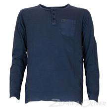 B-SS18-TLR613 Petrol T-shirt L/Æ MARINE