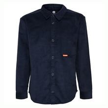 204307 Hummel Pelle Fløjlsskjorte MARINE