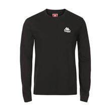303Z8MOY Kappa T-shirt L/Æ SORT