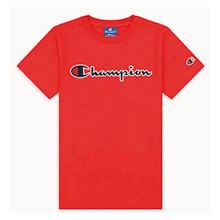 305770 Champion Logo T-shirt  RØD