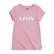 4EC982 Levis T-shirt LYS RØD