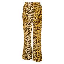 7181088 Hound Wide Pants Leopard BRUN