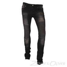 7170481 By Hound Paint biker jeans SORT