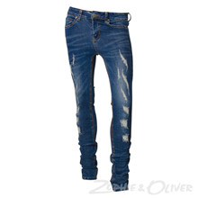 7170774 Hound PAINT Ripped jeans BLÅ