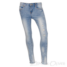 7180272 Hound Paint Jeans ankle fit BLÅ