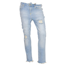 7180480 Hound Mom Jeans Ripped LYS BLÅ