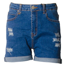 7180468 Hound Mom Denim Shorts BLÅ