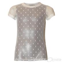 7170755 Hound t-shirt transperant Off white