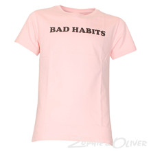 7180151 Hound Bad Habits Tee LYS RØD