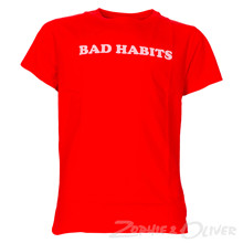 7180151 Hound Bad Habits Tee RØD