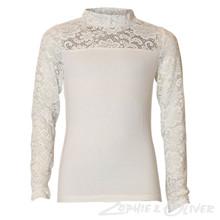 7170773 Hound blonde t-shirt L/Æ Off white