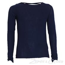 7170857 Hound Knit top w. crossback MARINE