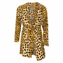 7181090 Hound Leopard Kimono  BRUN