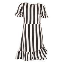 7190166 Hound Ruffle Dress STRIBET