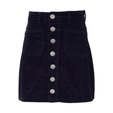 7190866 Hound Button Skirt  SORT