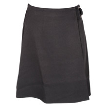 7200153  Hound Buckle skirt SORT