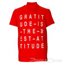 13067 Costbart Rio t-shirt m. print ORANGE