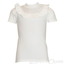 13355 Costbart Trille T-shirt K/Æ  HVID
