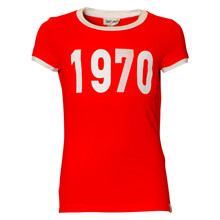 13711 Costbart Babette T-shirt RØD