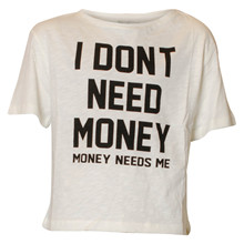 13712 Costbart Betina T-shirt Off white
