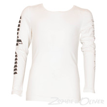 13469 Costbart Vanessa T-shirt  l/æ Off white