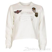 4207805 D-xel Aline 805 Sweatshirt Off white