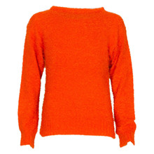 4409758 D-xel Wab Strikket Sweat ORANGE